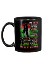 You Are The Happy To My Holiday Family Mug back