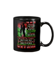 You Are The Happy To My Holiday Family Mug front