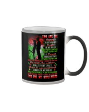 You Are The Happy To My Holiday Family Color Changing Mug thumbnail