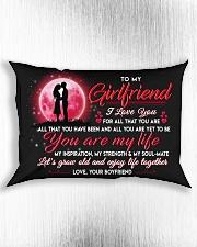 Family Girlfriend You Are My Life Rectangular Pillowcase aos-pillow-rectangle-front-lifestyle-4