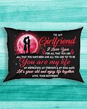 Family Girlfriend You Are My Life Rectangular Pillowcase aos-pillow-rectangle-front-lifestyle-5