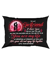 Family Girlfriend You Are My Life Rectangular Pillowcase front