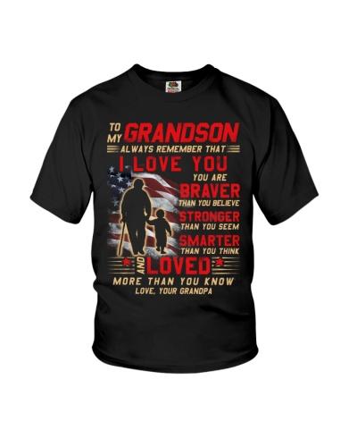 Veteran Grandson Grandpa I Love You