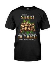 Otter I'm Not Short Classic T-Shirt front