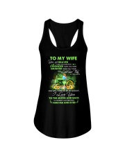 I Love You To Infinity And Beyond Famer  Ladies Flowy Tank thumbnail