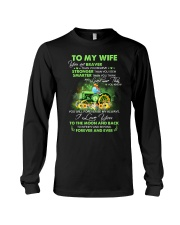 I Love You To Infinity And Beyond Famer  Long Sleeve Tee thumbnail