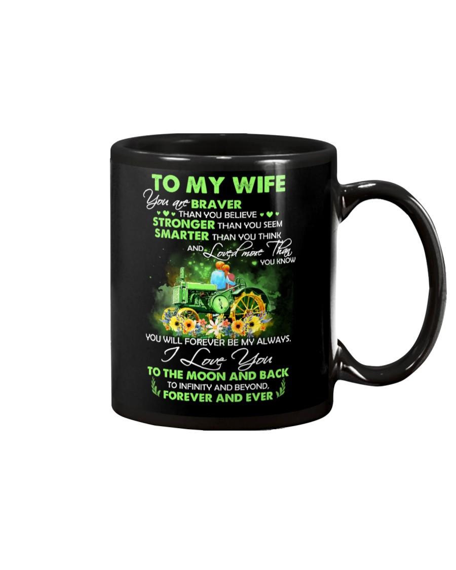 I Love You To Infinity And Beyond Famer  Mug