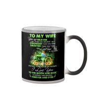 I Love You To Infinity And Beyond Famer  Color Changing Mug thumbnail