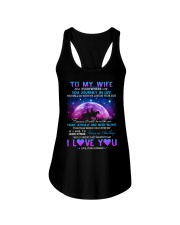 You Will Go With My Love By Your Side Horse  Ladies Flowy Tank thumbnail
