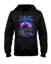 You Will Go With My Love By Your Side Horse  Hooded Sweatshirt thumbnail