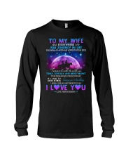 You Will Go With My Love By Your Side Horse  Long Sleeve Tee thumbnail