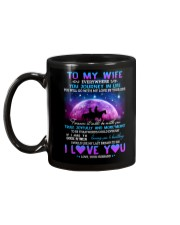 You Will Go With My Love By Your Side Horse  Mug back