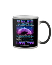 You Will Go With My Love By Your Side Horse  Color Changing Mug thumbnail