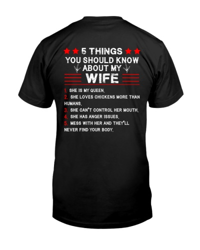 Five Things You Should Know About My Wife Chicken