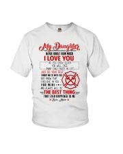 Daughter I Might Not Be With You The Best Thing Youth T-Shirt thumbnail