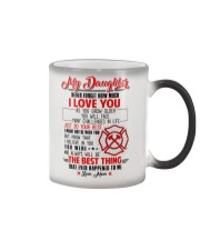 Daughter I Might Not Be With You The Best Thing Color Changing Mug thumbnail