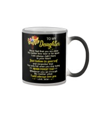 Never Feel Alone Always Love You Bird Color Changing Mug thumbnail