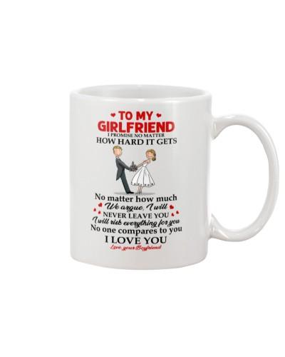 Family Girlfriend No One Compares To You Mug CC