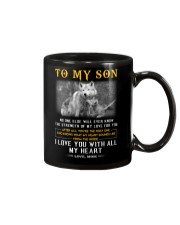 Wolf Strength Of My Love Son  Mug tile