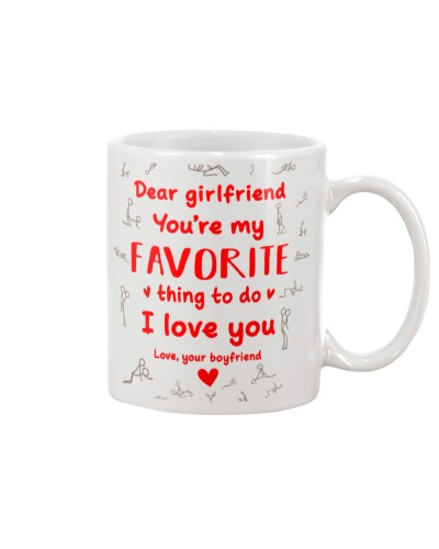 Girlfriend My Favorite Thing To Do Mug CC