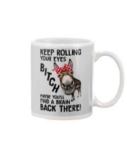 Rolling Your Eyes Farmer Mug thumbnail