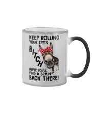 Rolling Your Eyes Farmer Color Changing Mug thumbnail