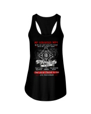 Viking Blessed The Broken Road Wife Ladies Flowy Tank thumbnail