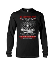 Viking Blessed The Broken Road Wife Long Sleeve Tee thumbnail