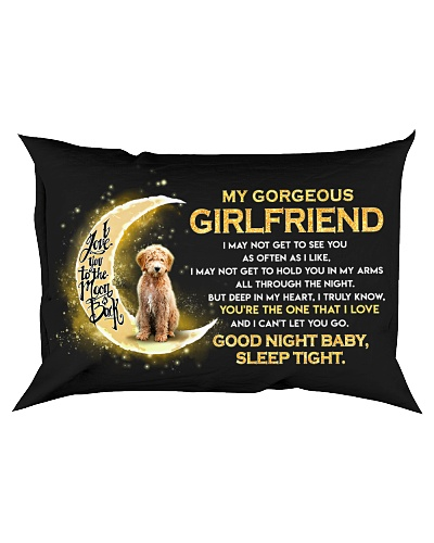 Goldendoodle Girlfriend Sleep Tight