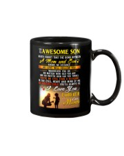 The Bond Between Son Mom  Mug front