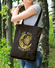 Stay Wild Moon Child Wolf Tote Bag lifestyle-totebag-front-4