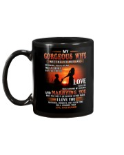 Meeting You Was Fate Wife Mug back