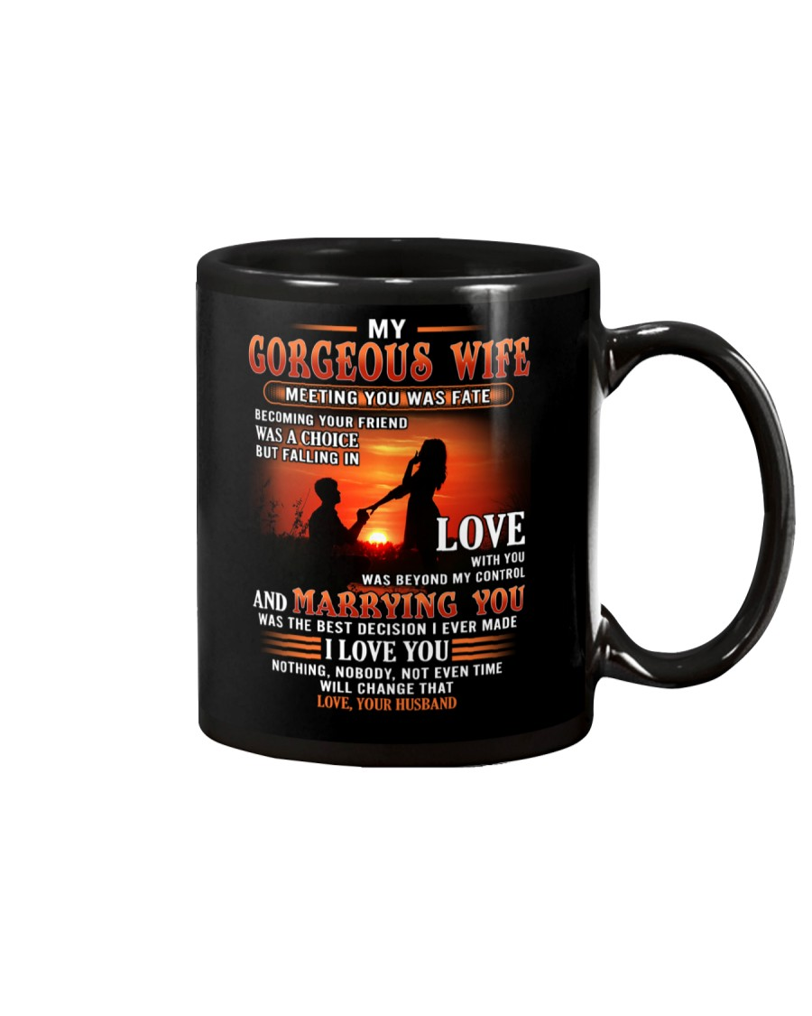 Meeting You Was Fate Wife Mug