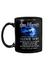 Family Girlfriend I Love You Mug back