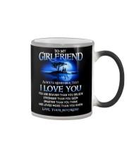 Family Girlfriend I Love You Color Changing Mug thumbnail