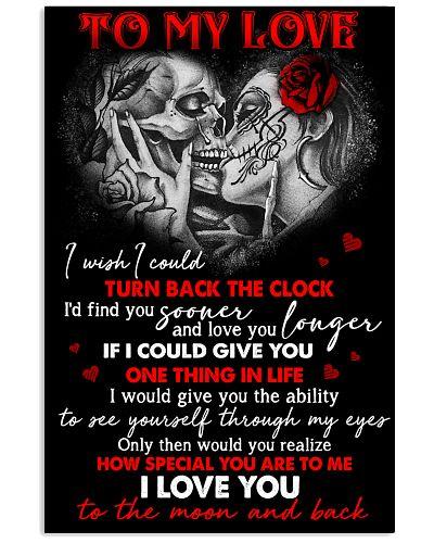 Skull Find You Sooner Love You Longer GG