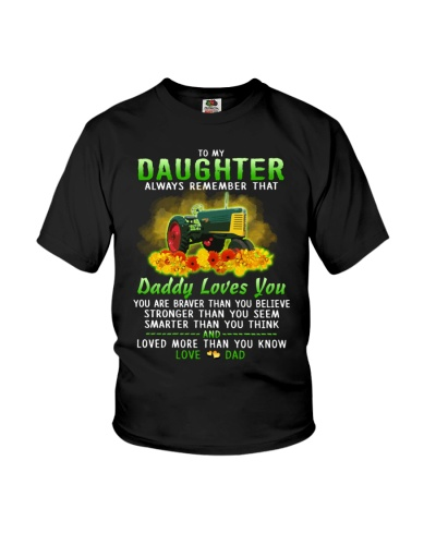 Farmer Daughter Dad Daddy Loves You
