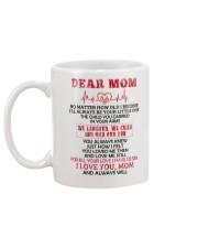 No Matter How Old l Become Family  Mug back