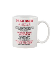 No Matter How Old l Become Family  Mug front