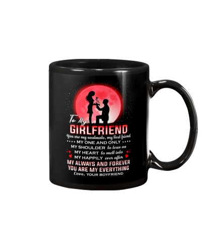 Family Girlfriend Shoulder To Lean On Mug CC