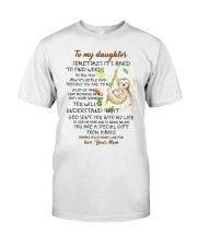 Sometimes It's Hard To Find Word To Tell You Sloth Classic T-Shirt thumbnail