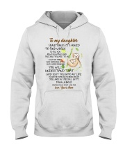 Sometimes It's Hard To Find Word To Tell You Sloth Hooded Sweatshirt thumbnail