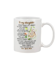 Sometimes It's Hard To Find Word To Tell You Sloth Mug front