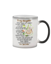 Sometimes It's Hard To Find Word To Tell You Sloth Color Changing Mug thumbnail