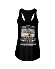 Wolf Girlfriend Greatest Blessing Ladies Flowy Tank thumbnail