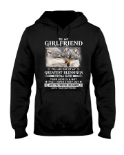 Wolf Girlfriend Greatest Blessing Hooded Sweatshirt thumbnail
