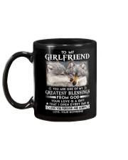 Wolf Girlfriend Greatest Blessing Mug back