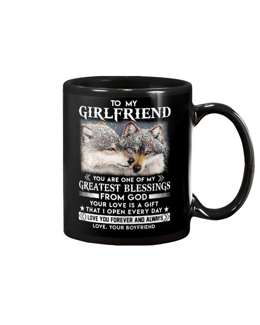 Wolf Girlfriend Greatest Blessing Mug