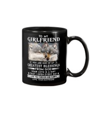 Wolf Girlfriend Greatest Blessing Mug front