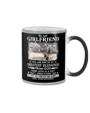 Wolf Girlfriend Greatest Blessing Color Changing Mug thumbnail